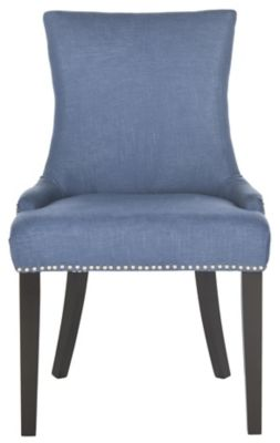 Safavieh Blue Lester Dining Chairs Set of 2