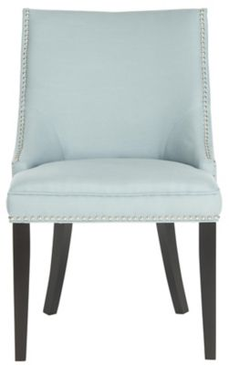 Safavieh Light Blue Afton Dining Chairs Set of 2