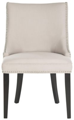 Safavieh Taupe Afton Dining Chairs Set of 2