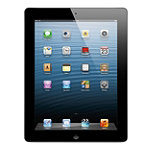 Apple iPad with 9.7' Retina Display, Wi-Fi + Verizon Cellular 64GB Black 829.99
