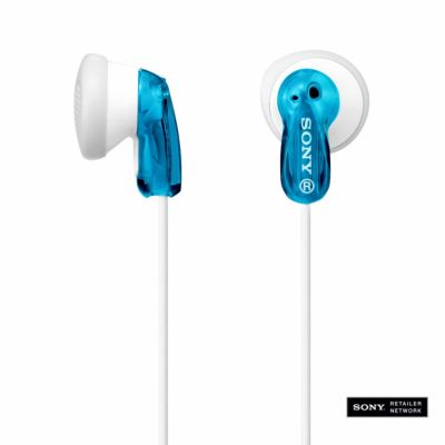 Sony Blue Fashion Earbud Headphones