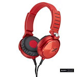 Sony Red X Series Over-the-Ear Headphones 149.99