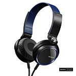 Sony Blue XB Series Extra Bass Headphones No price available.