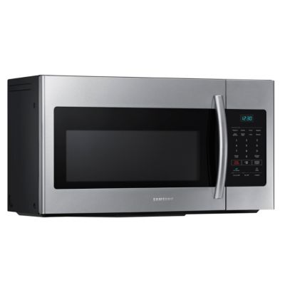 Samsung 1.6 Cu. Ft. 1,000-Watt Stainless Steel Over-the-Range Microwave