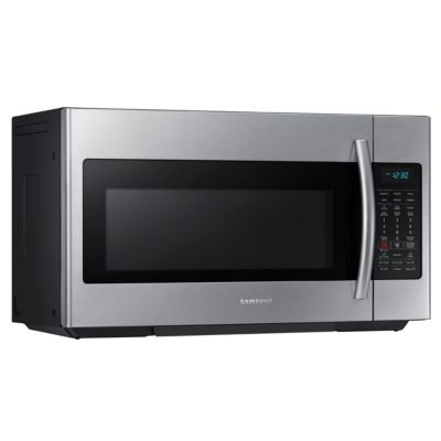Samsung 1.8 Cu. Ft. 1,000-Watt Stainless Steel Over-the-Range Microwave