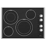 Maytag 30' Stainless Steel Electric Cooktop with 2 Dual-Choice™ Elements 899.00