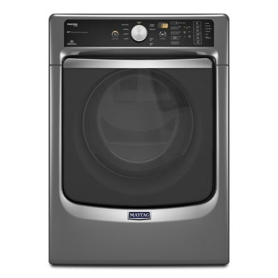 Maytag 7.4 Cu. Ft. Slate Maxima® Steam Electric Dryer (Pedestal Sold Separately)