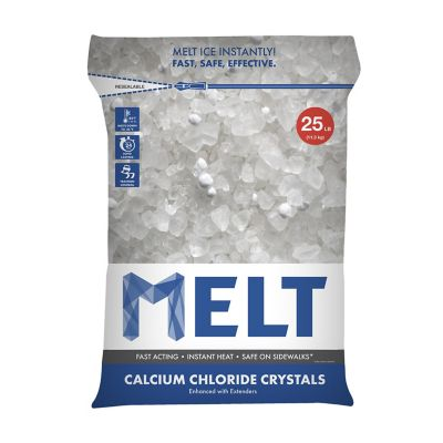 Snow Joe MELT 25-lb. Resealable Bag Calcium Chloride Crystals Ice Melter