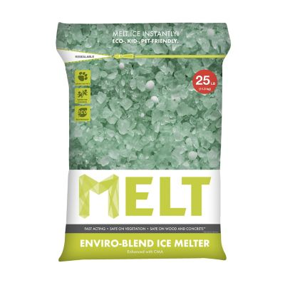 Snow Joe MELT 25-lb Re-sealable Bag Premium Enviro-Blend Ice Melter with CMA