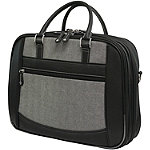 Mobile Edge 14.1' Black/Grey Herringbone Small Checkpoint Friendly Notebook Bag