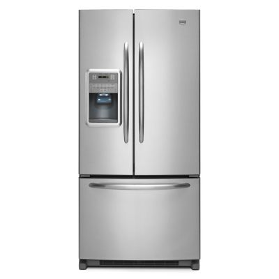 Maytag 21.8 Cu. Ft. Stainless Steel French Door Refrigerator