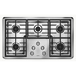 Maytag 36' Stainless Steel Gas Cooktop with 2 Power Cook Burners 879.00
