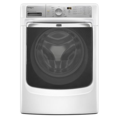 Maytag 4.3 Cu. Ft. Front-Load Steam Washer (Pedestal Sold Separately)