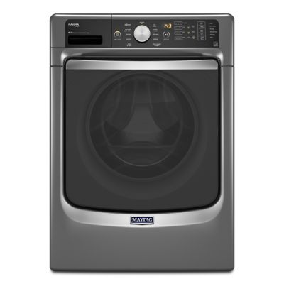 Maytag 4.5 Cu. Ft. Slate Maxima® Front-Load Steam Washer (Pedestal Sold Separately)