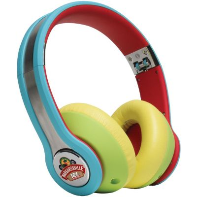 Margaritaville Mix1 High Fidelity Macaw On-Ear Headphones with Microphone