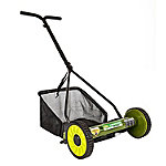Sun Joe Mow Joe 16' Manual Reel Mower with Grass Catcher
