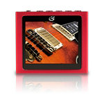 GPX Red 4GB Video MP3 Player 4.95