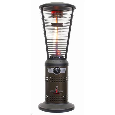 Lava Heat Italia Heritage Bronze Mini Ember Tabletop Liquid Propane Patio Heater