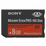 Sony 8GB Memory Stick PRO-HG Duo™ 49.95