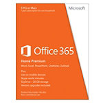 Microsoft Office 365 Home Premium Key Card (5 PCs or Macs) 99.99