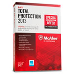 McAfee Total Protection 2013 PC 3-User 59.99