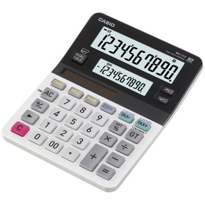 Casio Dual-Display Mini Desktop Calculator