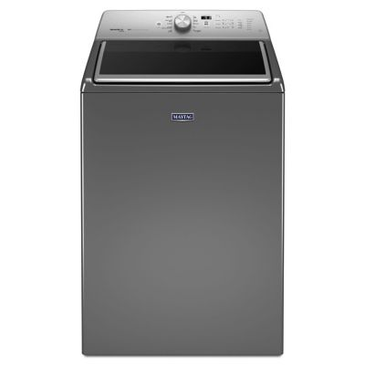 Maytag 5.3 Cu. Ft. Metallic Slate Steam Top-Load Washer