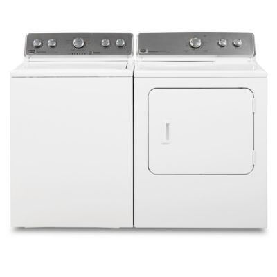 Maytag 3.8 Cu. Ft. HE Top-Load Washer and 7 Cu. Ft. Electric Dryer