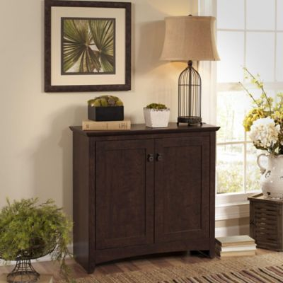 Bush Madison Cherry Buena Vista Storage Cabinet