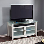 Bush Pure White Aero Stand for TVs Up to 50' and 90 lbs.