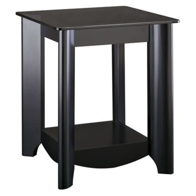 Bush Classic Black Aero End Tables Set of 2