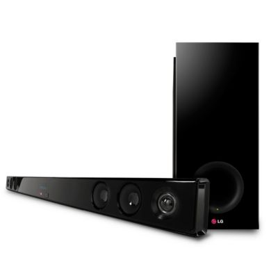 LG 300-Watt 2.1-Channel Soundbar with Wireless Subwoofer