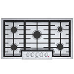 Bosch 36' Stainless Steel Gas Cooktop