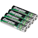 Energizer 4-Pack AAA NiMH Rechargeable Batteries No price available.
