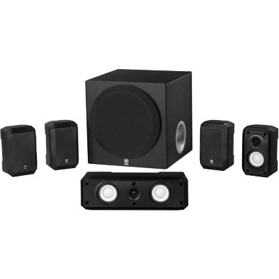 Yamaha 5.1 Channel Home Theater Speaker Package