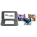 Nintendo 3DS™ XL Console with 3 Games, Starter Kit and AC Adapter