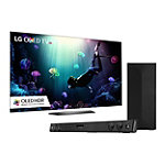 LG 55' 4K Ultra HD HDR webOS OLED Smart TV with FREE 2.1 Channel Soundbar and Wireless Subwoofer