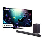 LG 55' 4K Ultra HD HDR webOS OLED Smart TV with FREE 2.1-Channel Soundbar and Wireless Subwoofer