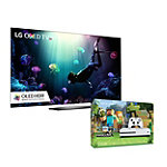 Save $150 on LG 55' 4K Ultra HD HDR webOS OLED Smart TV and Xbox One S 500GB Minecraft Favorites Bundle