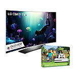 Save $150 on LG 55' Curved 4K Ultra HD 3D HDR webOS OLED Smart TV and Xbox One S 500GB Minecraft Favorites Bundle