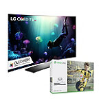 Save $150 on LG 55' Curved 4K Ultra HD 3D HDR webOS OLED Smart TV and Xbox One S 500GB FIFA 17 Bundle