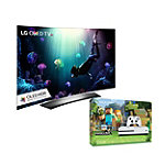 Save $150 on LG 65' Curved 4K Ultra HD 3D HDR webOS OLED Smart TV and Microsoft Xbox One S 500GB Minecraft Favorites Bundle