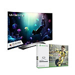 Save $150 on LG 65' Curved 4K Ultra HD 3D HDR webOS OLED Smart TV and Xbox One S 500GB FIFA 17 Bundle