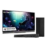 LG 65' 4K Ultra HD 3D HDR webOS OLED Smart TV with FREE 2.1 Channel Soundbar and Wireless Subwoofer