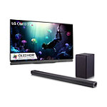 LG 65' 4K Ultra HD 3D HDR webOS OLED Smart TV with FREE 2.1-Channel Soundbar and Wireless Subwoofer