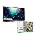 Save $150 on LG 65' 4K Ultra HD 3D HDR webOS OLED Smart TV and Xbox One S 500GB FIFA 17 Bundle