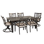 Agio Spring Hill 7-Piece Patio Set