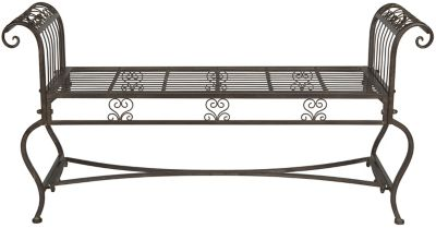 Safavieh Rustic Brown Brielle Bench