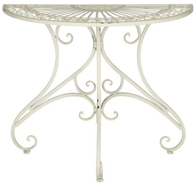 Safavieh Antique White Annalise Accent Table