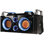 QFX Blue Rechargeable Party PA Bluetooth Boombox